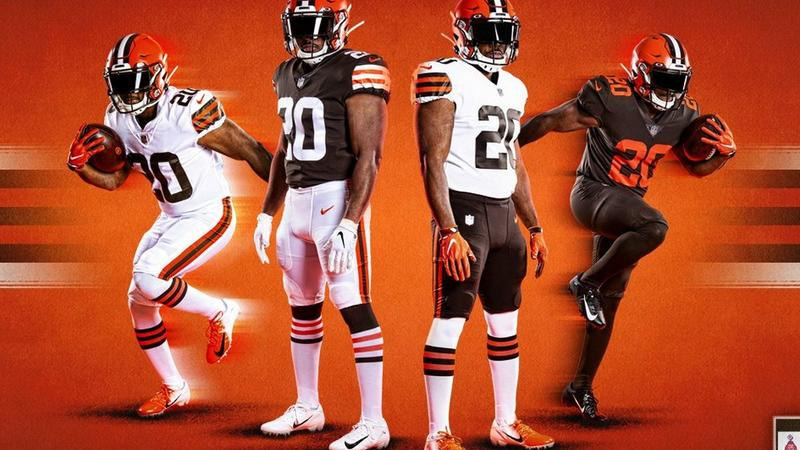 Browns New Jersey design returns to its original style